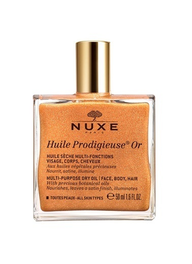 Nuxe Nuxe Huile Prodigieuse Or Altın Parıltılı Kuru Yağ 50 Ml Renksiz